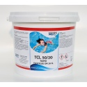 Cloro Rapido per piscina pastiglie 20gr TCL 50/20 - 5 kg