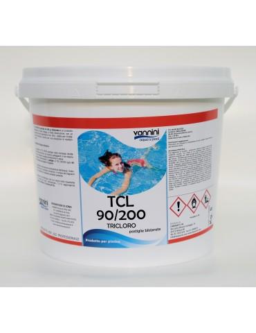 Tricloro 90% pastiglie 200gr TCL 90/200 per piscina - 5 kg.