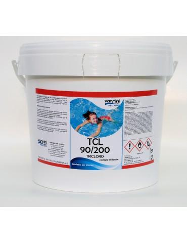 Slow dissolving chlorine tri 90/200- 10 kg.
