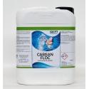 Flocculante liquido per piscina 5 lt. per filtri a sabbia