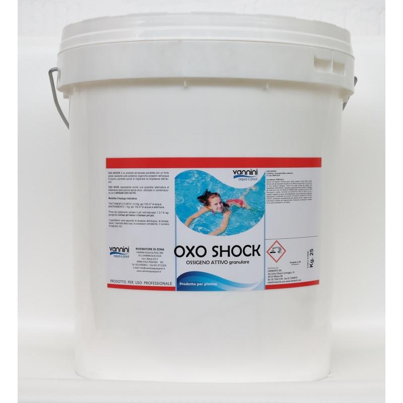 Ossigeno attivo granulare per piscina 25 kg vannini - Ossigeno attivo per piscine ...