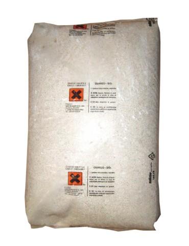 Sabbia di quarzo 1-2 mm per filtri piscina a sabbia - Sacco