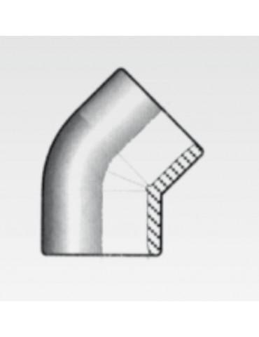 L-pipe in PVC 90°