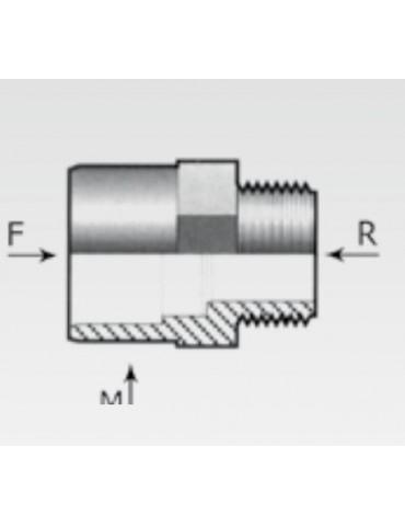 Manicotto adattatore in PVC