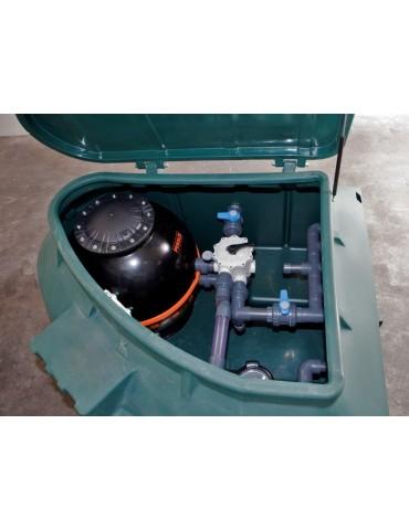 Equipment room Rotax - 15 mc/h