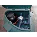 Equipment room Rotax Pool's - 22 mc/h