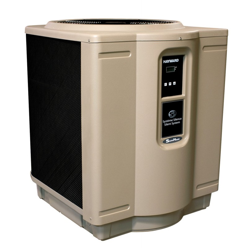 heat pump hayward sumheat power produced 29 kw absorbed 5 4 kw three speed vannini aqua pool. Black Bedroom Furniture Sets. Home Design Ideas