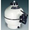"""Filtro a sabbia per piscina Astral Cantabric Laterale - diametro 400 - 1 1/2 """"- portata 6 mc/h"""