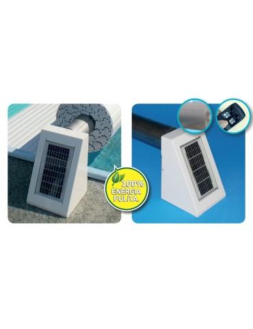 Rullo di avvolgimento automatico Compact con Solar Kit