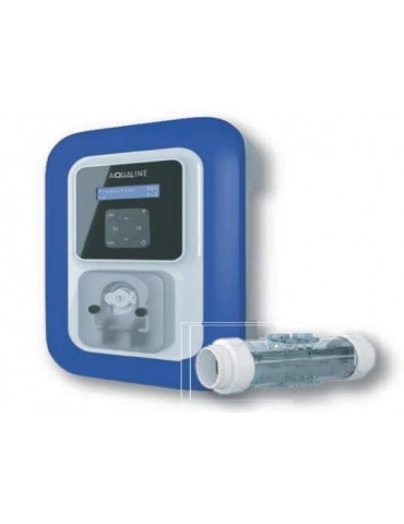 Electrolysis unit and pH regulator Pool Salt Duo for pools up