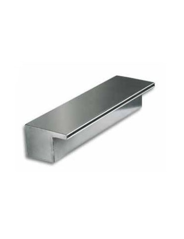 Wall-mounted cascade pool jet AQA stainless steel 105