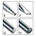 Floor shower head AQA stainless steel 109