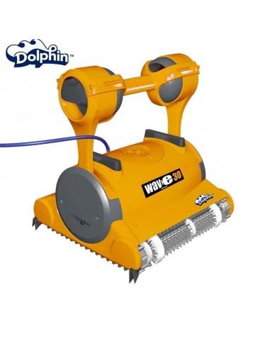 Robot piscina Dolphin WAVE 30 Maytronics con spazzole per PVC