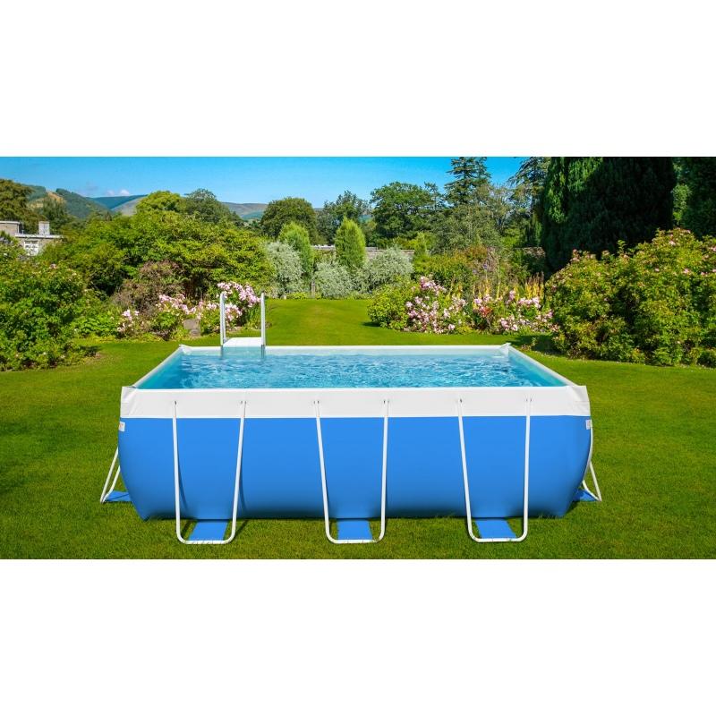 Piscina fuori terra laghetto classic 27 vannini aqua pool - Piscine laghetto fuori terra ...