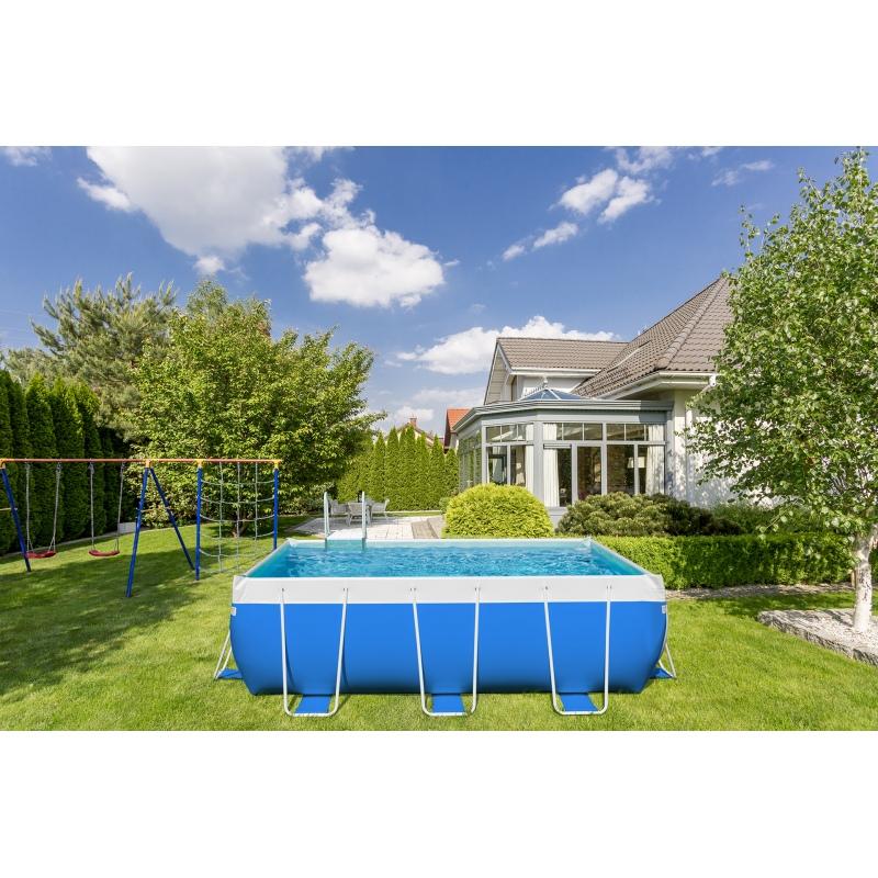 Piscina fuori terra laghetto classic 2 vannini aqua pool for Piscina fuori terra 3x2