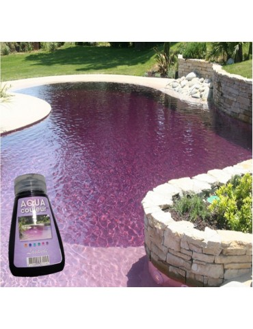 Aqua Couleur- LAVENDER temporary pool water colorant