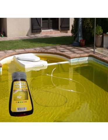 Aqua Couleur- MANGO temporary pool water colorant