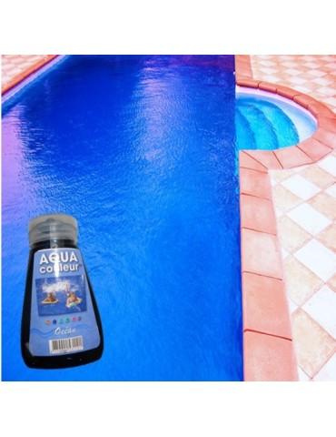Aqua Couleur- BLUE temporary pool water colorant