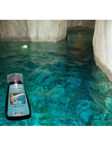 Aqua Couleur- TURQUOISE temporary pool water colorant