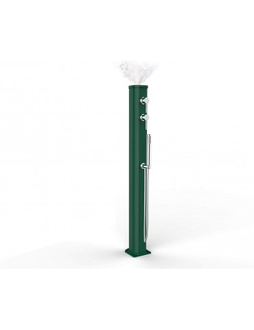 Fontana/Doccia solare Jolly Go con nebulizzatore serbatoio da 20 lt