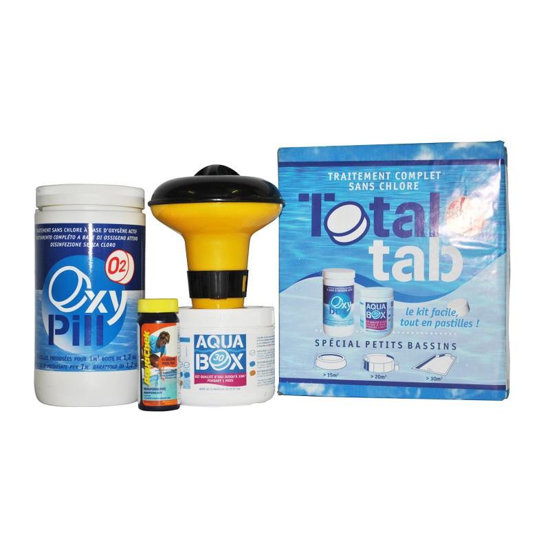 Kit completo total tab a base di ossigeno attivo per - Ossigeno attivo per piscine ...