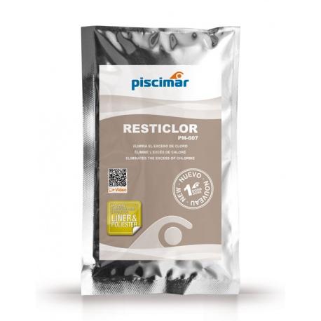 Resticlor - elimina l'eccesso di cloro/bromo/ossigeno