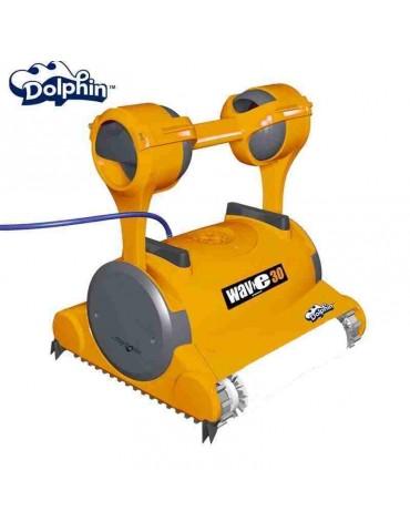 Robot piscina Dolphin WAVE 30 Maytronics con spazzole Kanebo