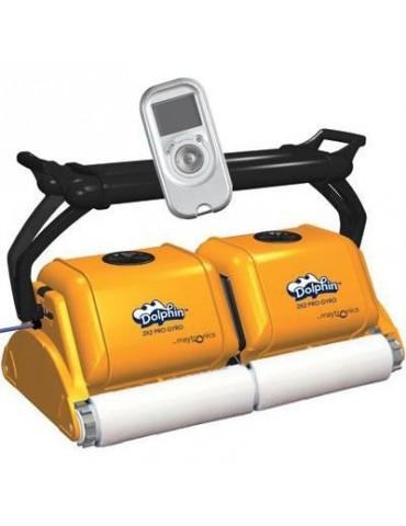 Robot Dolphin 2x2 Pro Gyro con per piscina pubblica spazzole