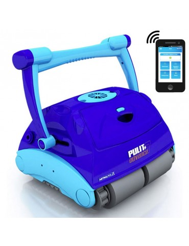 Robotic pool cleaner Pulit Advance 7DB with Gyroscope by