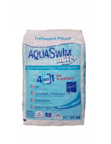 Aquaswim Acti salt + special for electrolysis