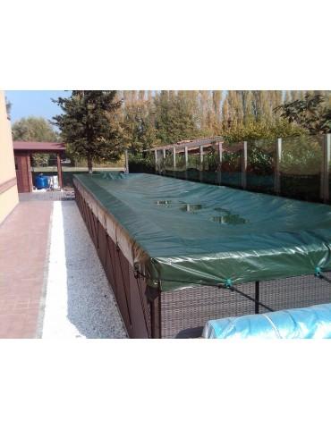 Copertura invernale per piscina fuoriterra Laghetto Dolce Vita
