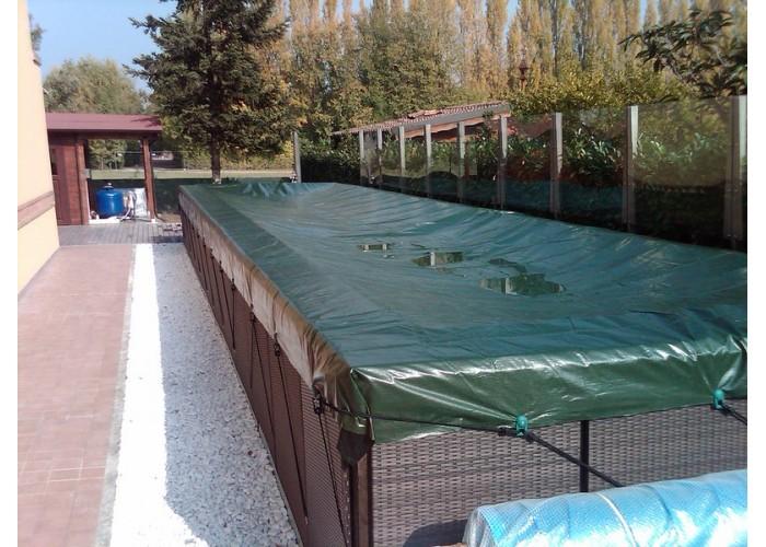 Winter cover for Laghetto Dolce Vita 35