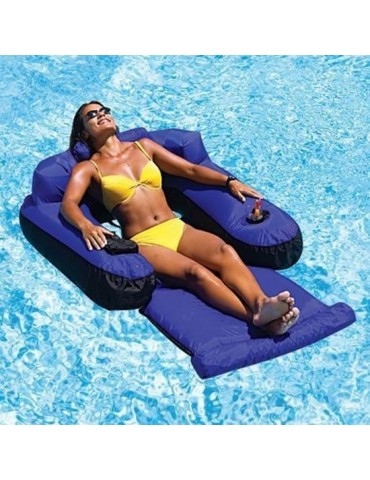 Floating chaise longue