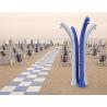 Doccia solare Happy Beach con temporizzatore e lavapiedi serbatoio da 28 lt