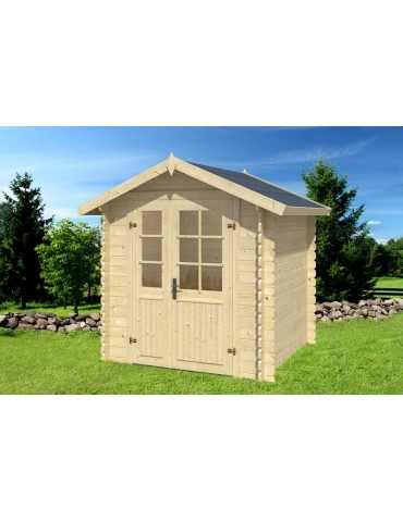Casetta da giardino in legno Luisa cm. 208 x 208