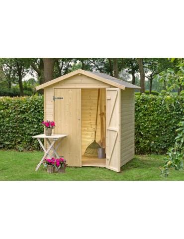 Casetta da giardino in legno Narciso cm. 170 x 120