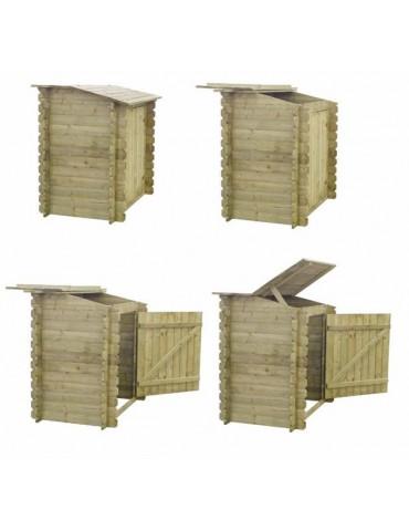 Locale tecnico in legno cm. 120 x 68
