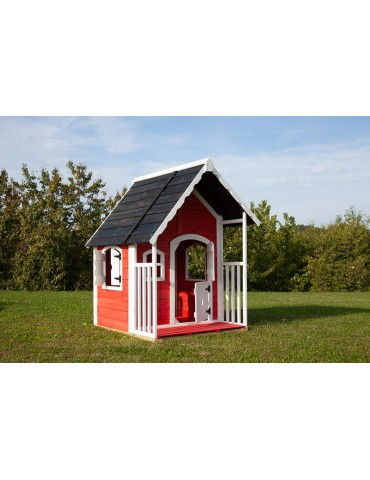 Casetta Anny da giardino in legno per bambini 97x113