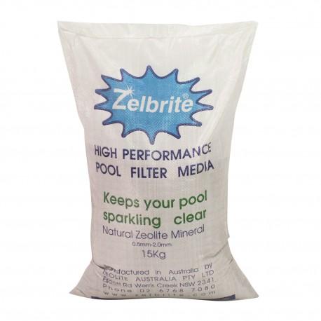 Zelbrite - Sabbia per filtro piscina - Sacco da 15 kg
