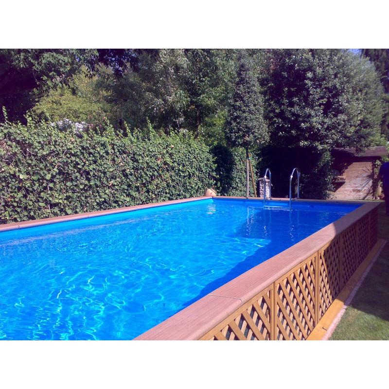 piscina fuori terra laghetto dolce vita woody 2x5