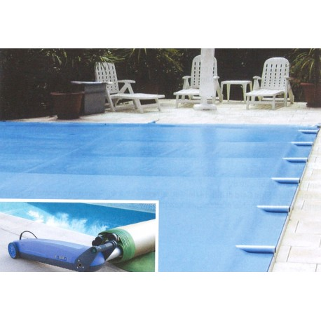 Copertura sicurezza piscina a barre Easy Top - misura 4x8