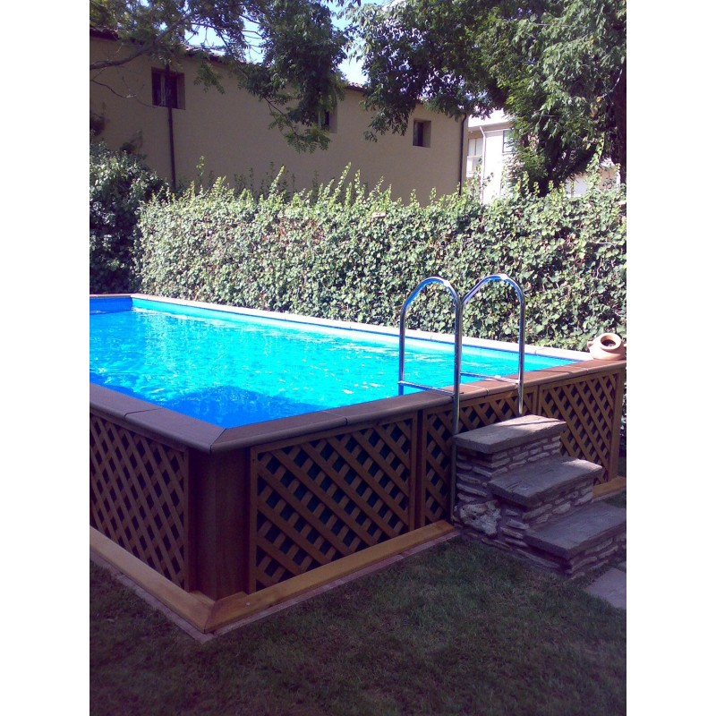 Piscine laghetto fuoriterra for Petite piscine rigide