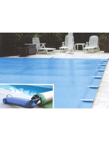 Pool cover with rods Easy Top - size 4x9