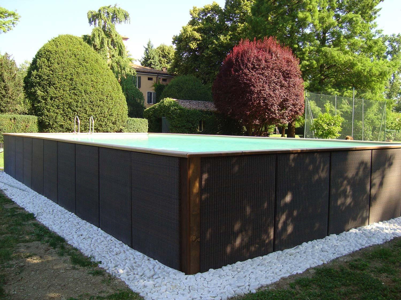 Piscine da esterno prezzi piscina frame xx cm with for Laghetto giardino ebay