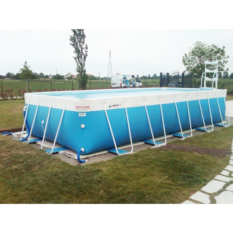 Piscina fuori terra laghetto classic 26 vannini aqua pool for Pompe per piscine fuori terra laghetto