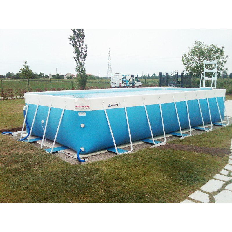 Piscina fuori terra laghetto classic 26 vannini aqua pool - Piscina fuori terra ...