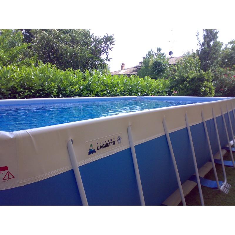 Piscina fuori terra laghetto classic 26 vannini aqua pool - Occasioni piscine fuori terra ...