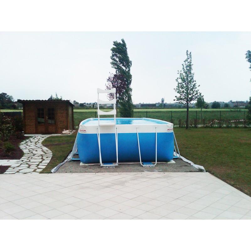 Above ground pool laghetto classic 26 vannini aqua pool for Pompe per piscine fuori terra laghetto