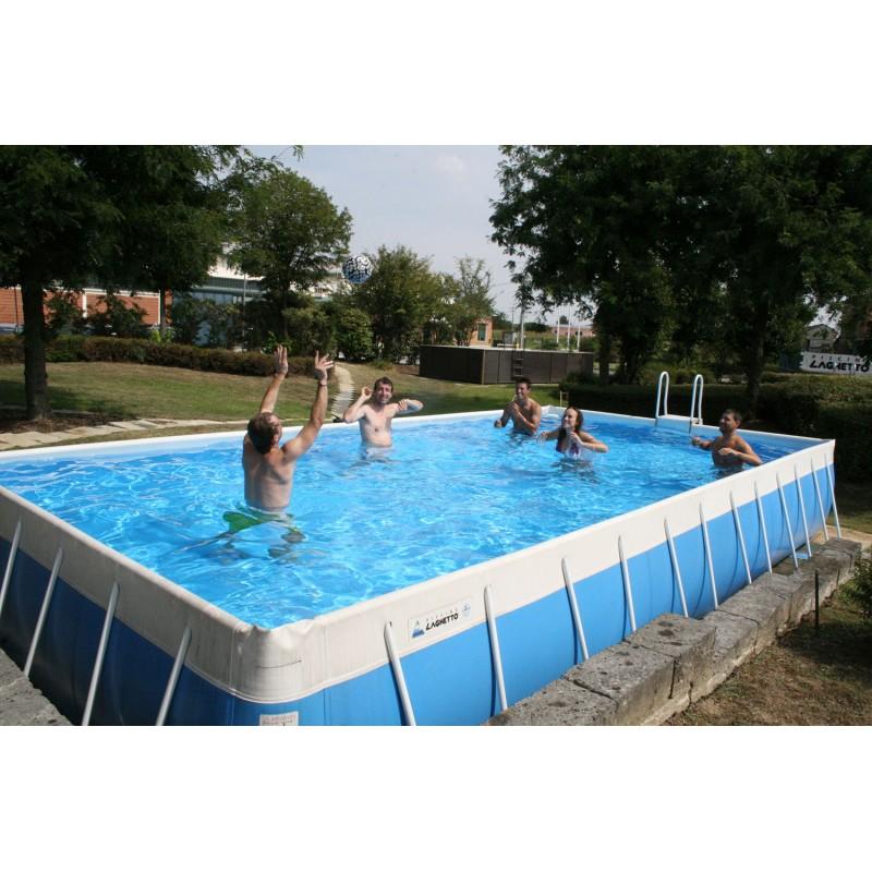 Piscina fuori terra laghetto classic 47 vannini aqua pool - Piscina a terra ...