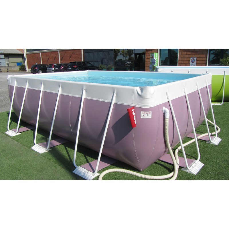 piscina fuori terra laghetto pop 24 h 100 vannini aqua pool
